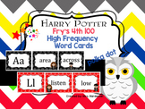 Harry Potter Polka Dot Fry's 4th 100 Word Cards