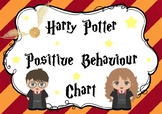 Harry Potter Positive Behaviour Chart