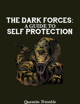 Harry Potter Textbook Cover: The Dark Forces: A Guide for Self Protection