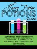 Harry Potter Potions Class - Making Scientific Observations