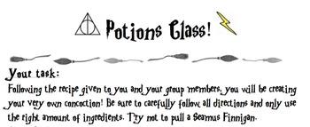 Harry Potter Potions Lesson! (Capacity & Measurement!)