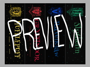 Harry Potter Printable Bookmarks