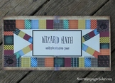Harry Potter Inspired Wizard Math Printable Multiplication