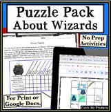 Logic Puzzles Grids - Harry Potter