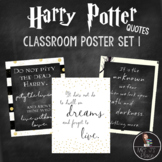 Harry Potter Quotes: Classroom Signs