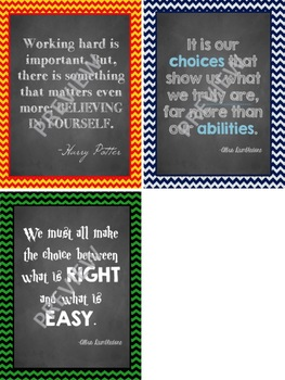 Harry Potter Quotes Printables