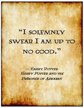 Harry Potter Quotes for Classroom