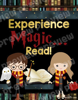 Harry Potter Reading Poster