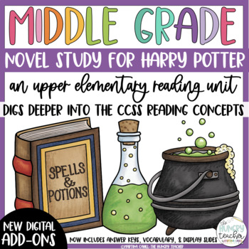 Fifth Grade Reading Unit - Harry Potter and the Sorcerer's Stone