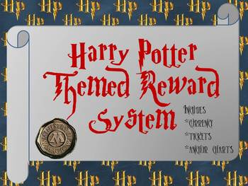 Harry Potter Reward System By Sabby Chic Shaddock Shop Tpt
