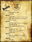 Harry Potter Reward System