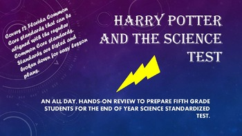 Harry Potter Science Year Review Day