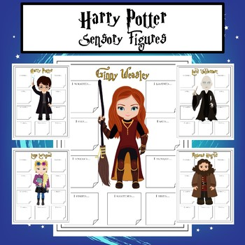 Harry Potter Sensory Figures for Character Analysis