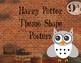Harry Potter Shape Posters