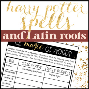 Harry Potter Spells and Latin Roots
