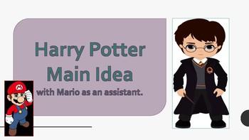 Harry Potter / Super Mario Main Idead
