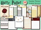 Harry Potter Teacher Planner 2018 2019 - English Version