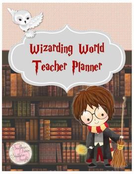 Harry Potter Teacher Planner