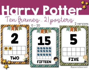 Harry Potter Ten frames posters