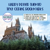 Harry Potter Text Coding Bookmarks