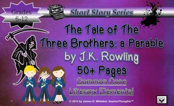 Harry Potter The Tale of the Three Brothers Lesson & Teach