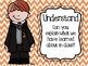 Harry Potter Theme Bloom's Taxonomy Charts - Chevron, Dots, BW