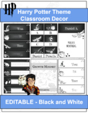Harry Potter Theme Classroom Decor