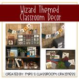 Wizard Themed Classroom Decor