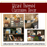 Wizard Themed Classroom Decor