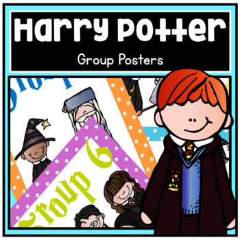 Harry Potter Theme Group Posters - Dots, Chevron, BW
