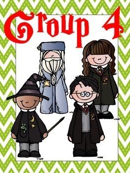 Harry Potter Theme Group Posters - Dots, Chevron, BW