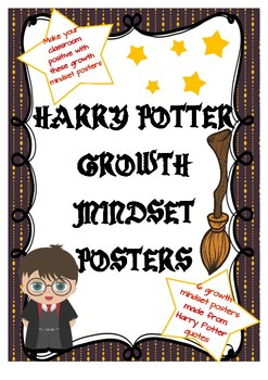 Harry Potter Theme Growth Mindset Posters