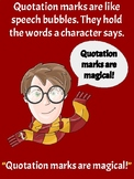Harry Potter Theme Quotation Mark Posters