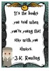 Harry Potter Theme Reading Posters