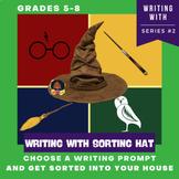 Sorting Hat Quiz, Back to School Activities, Harry Potter Quiz Writing Prompts