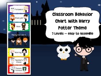 Harry Potter Themed Behavior Chart