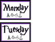 Harry Potter Themed Calendar
