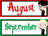 Harry Potter Themed Calendar