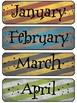 Harry Potter Themed Editable Calendar