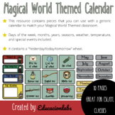 Harry Potter Themed Calendar in English