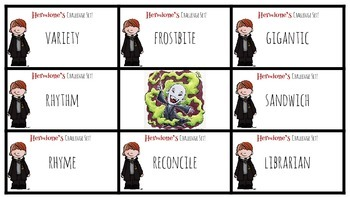 Harry Potter Themed Classroom - 4.1.4. /Long I/ Phonics Card Game