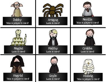 Harry Potter Themed Classroom - Bossy R - /ar/ Phonics Card Game