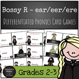 Harry Potter Themed Classroom - Bossy R - /ear/ /ear/ /ere/ Phonics Card Game