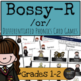 Harry Potter Themed Classroom - Bossy-R /or/ Phonics Card Games