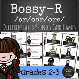Harry Potter Themed Classroom - Bossy R - /or/ /ore/ /oar/ Phonics Card Game