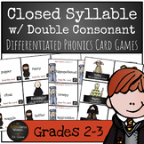 Harry Potter Themed Classroom - Closed Syllable words with a Double Consonant