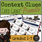 Harry Potter Themed Classroom -  Context Clues Game Bundle