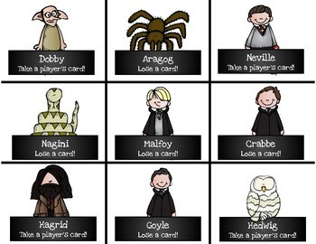 Harry Potter Themed Classroom - Final Stable Syllables Phonics Card Games