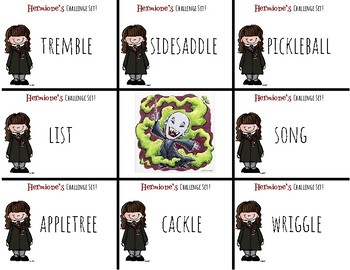 Harry Potter Themed Classroom-Grade 1-Final Stable Syllables Phonics Card Game