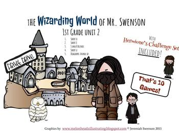 Harry Potter Themed Classroom -  Grade 1 - Unit 2 Phonics Card Game